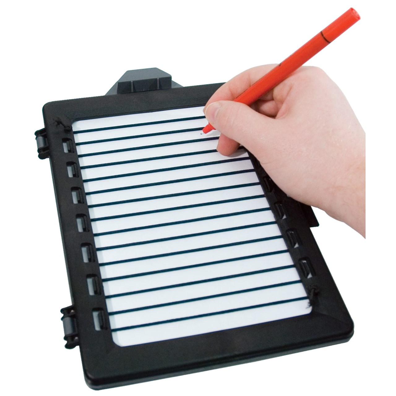 Low Vision Note Writing Frame with Washable Pen
