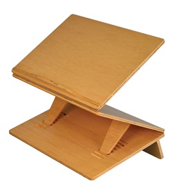Sit-Stand Podium Slant Board