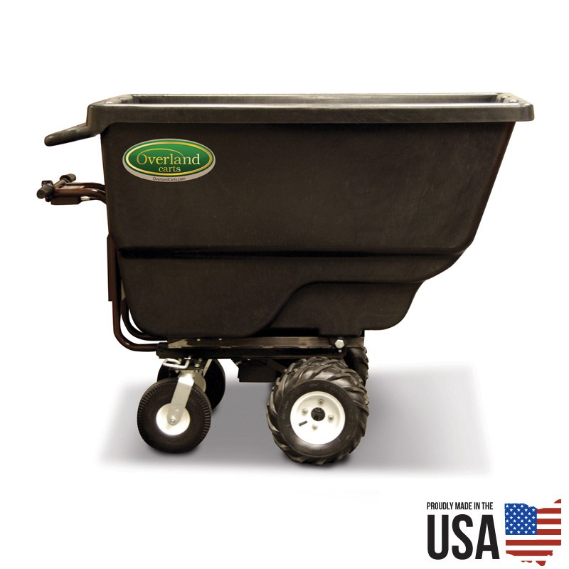 20 Cubic Foot Electric Trash Utility Cart
