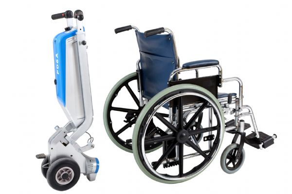 Samson Power Drive and a wheelchair