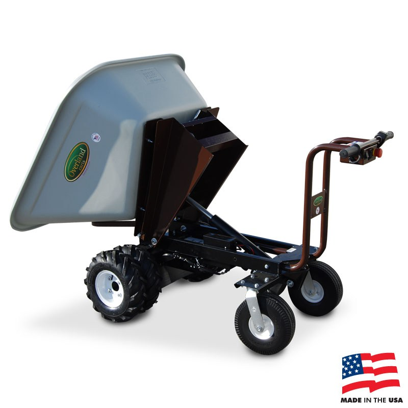 Powered Dump Cart