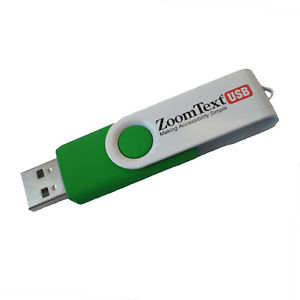 ZoomText Magnification - English USB Version 10.1