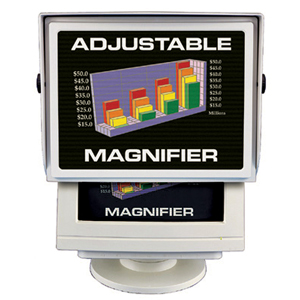 "Telescopic CRT Magnifier Fits 17"" CRT Monitors"