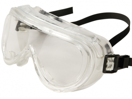 Encon 160 Series Goggle 2-70 Clear Frame, Clear Lens, Uncoated