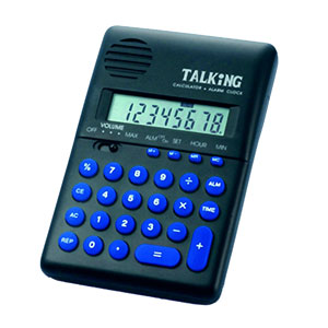 Pocket Size Talking Calculator