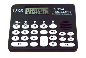 10 Digit Talking Calculator
