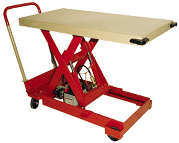 Backsaver Portable Lift Table