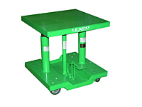 Lexco Foot Operated & Electric Hydraulic Lift Table