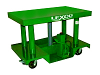 Lexco Foot Operated or Powered Portable Hydraulic Lift Table