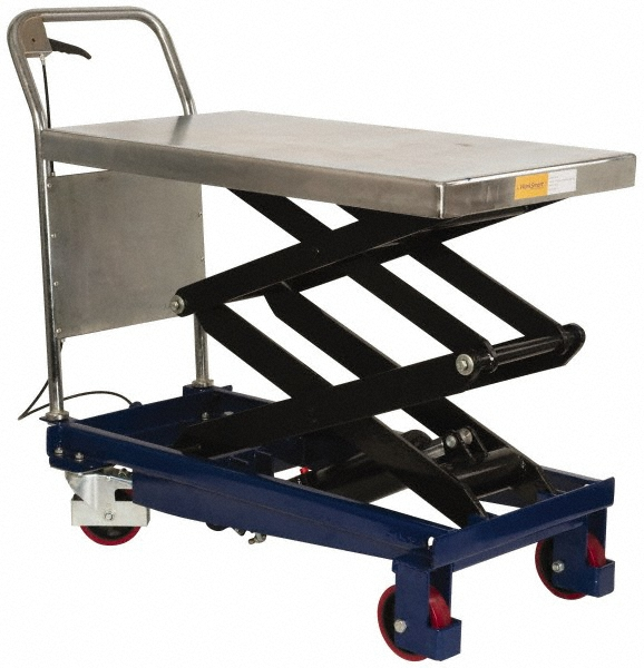 WorkSmart - 770 Lbs. Load Capacity Scissor Lifting Table
