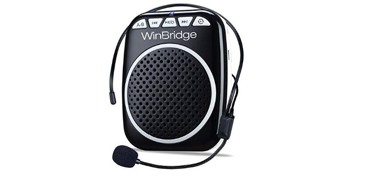 WB001 Ultralight Portable Voice Amplifier Waist Support