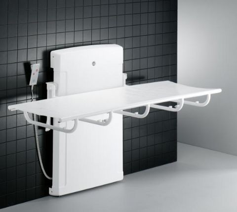 Pressalit Care 2000 Hi Lo Changing Table