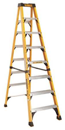 8' Type 1AA 500lb Capacity 7-Step Fiberglass DeWalt® Step Ladder