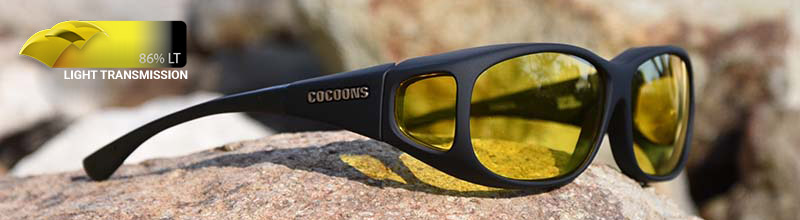 Cacoon Glasses with Lemon tinted lenses