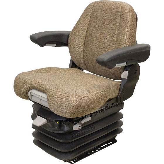K&M Grammer MSG95/741 Seat with 12V Air Suspension