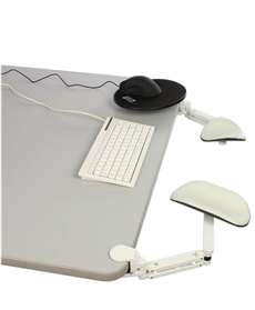 ErgoRest Articulating Arm Support and Mouse Pad