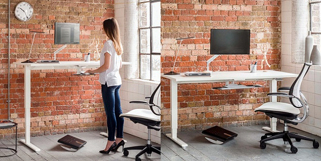 Float Height Adjustable Table