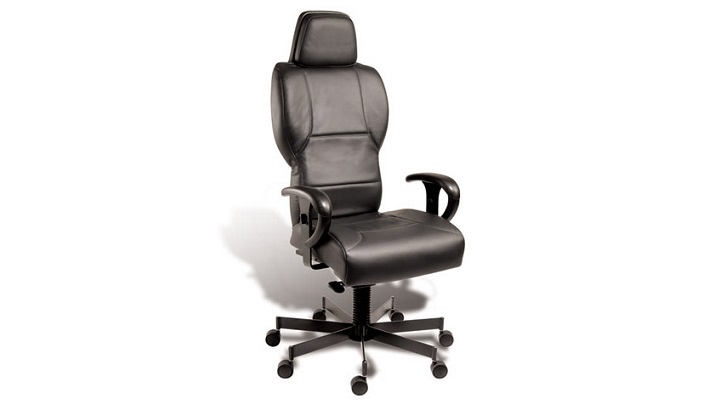 Faux Leather 24/7 Intensive Use Executive Chair