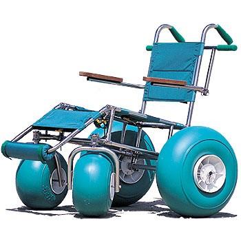 how to build a beach wheelchair