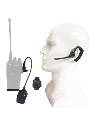 Contalketech Walkie Talkie Wireless Bluetooth Headset